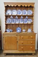 Antique Baltic Pine Hutch Dresser $2250