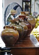 19th Century French Olive Jars