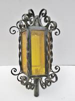Vintage Wrought Iron Out side Porch Light