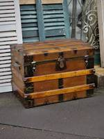 19th Century Saratoga or Carriage Trunk SOLD Similar one in stock