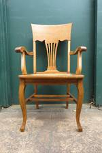 Arts & Crafts Oak Arm Chair sold