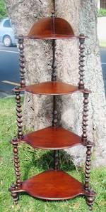 Victorian Mahogany Whatnot $950.00