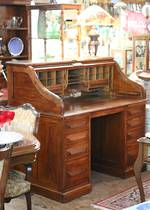 Genuine Antique Cuttler Roll-top Desk