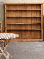 Rustic pine Book Case or Shelving Unit - large
