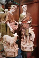 Royal Dux Shepherd and Shepherdess Figures SOLD More in Stock Now