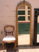 Large Rococo  Dressing Mirror