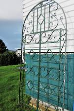 Tall Bespoke Wrought Iron Archway Panel $1995.00