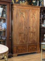 Antique European Rustic Pine Wardrobe, Linen Press or Kitchen Cabinet SOLD