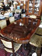 Vintage French Walnut Extension Table $3500.00