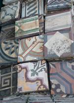 Freshly Uncovered Layer of  Antique Tiles - For Medley Selection