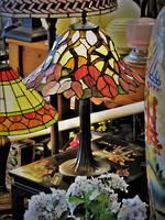 Bespoke Autumn Tree Lead Light Table Lamp