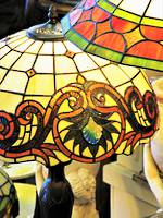 Bejeweled Lead-lite Table Lamp