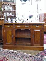 Colonial Art Nouveau Mottled Kauri Sideboard $2750.00