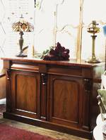 English Mahogany Sideboard $2250