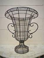 French Wire Urn $175.00