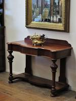 English Mahogany Hall Table $1650