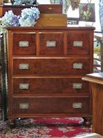 Magnificent Colonial Mottled Kauri Scotch Chest of Drawers SOLD