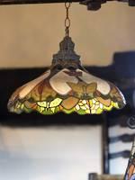 Vintage Art Nouveau Style Tiffany Ceiling light
