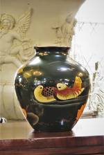 Vintage Hand Painted Chinese Vase $395