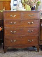 Georgian Oak Chest of Drawers SOLD