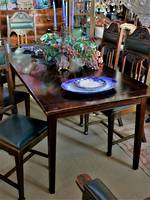 Rustic French Style Elm Dining Table