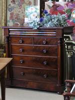 English Mahogany Chest of Drawers SOLD