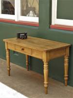 Early Antique English Baltic pine rustic Desk or Work Table SOLD