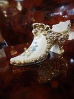 Victorian Porcelain Shoe