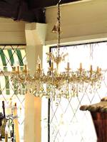 Huge 22 arm 'Champagne' Classical Gold Tinted Crystal Chandelier $7500.00 Sold but more arriving