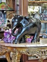 Antique Carved Ebony Elephant Family Coming Soon...