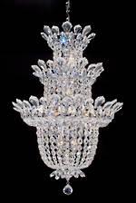 Three Tier Crystal Chandelier $3750
