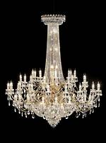 Very Large Gold Plated Chandelier $35,000.00