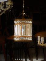 High Purity Cut Crystal Ceiling Light Lantern $950.00