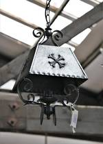 Original Wrought Iron French light SOLD
