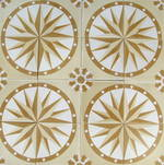 New Yellow Compass Tile $7 each