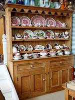 Large Antique Rustic Farmhouse Irish Pine Dresser Circa 1870 SOLD