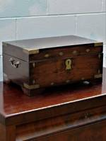 Large Fitted Writing or Games Compendium Hardwood Box SOLD