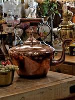 19th Century Gigantic Copper Tea Pot  - Store Display$995
