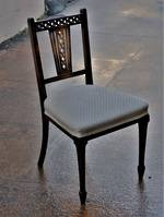 Pair of Edwardian Chairs $750 pr