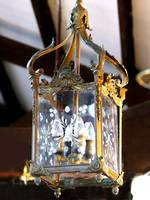 Antique Veranda light - Gilded Bronze Lion Mask  Motif $2250