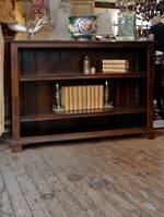 Solid Oak Book Shelf - Adjustable Shelving  $1850