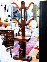 Antique Hall Stand Coat & Hat Rack  $1550