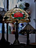 Leadlight Tiffany Style Lamp