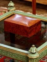 Finely Crafted Totara Burr Box - Circa 1880