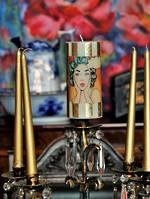 Bespoke Candles - New Zealand Made $25 each - Vintage Pop Art