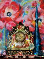 Magnificent Daily Wind-up Mantel Clock - Absolute Statement Piece!