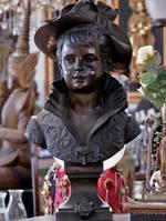Huge Bronze Bust -SOLD