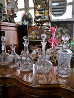 Crystal Decanters $110 - $175