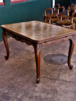 French Parquetry Extension Table SOLD