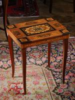 Florentine Music Box Table